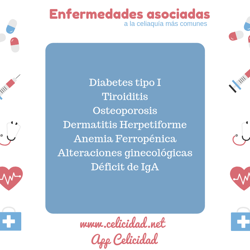 Enfermedades asociadas celiaquia
