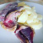 Lacn con patatinas nada ms sencillo ni delicioso! Comida dehellip