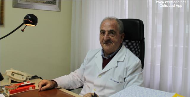 Dr. Rodrigo, experto en celiaquía.