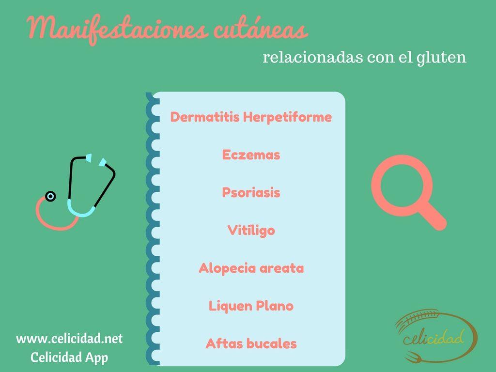 celiaquia y psoriasis