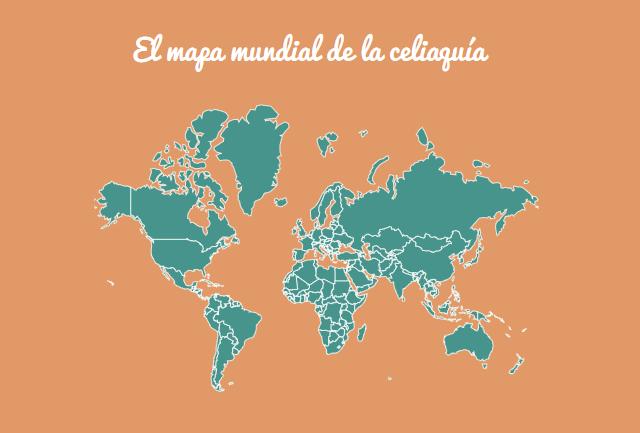 El mapa de la celiaquía