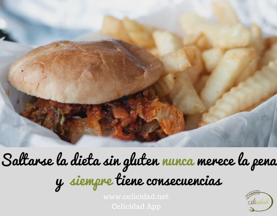 saltarse la dieta sin gluten