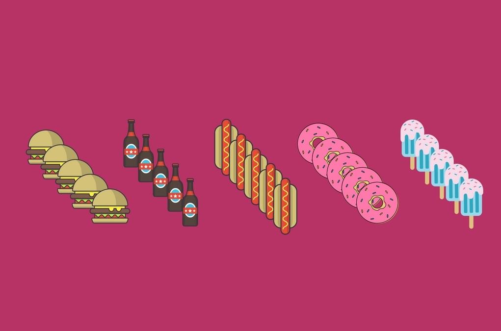 exceso de productos sin gluten