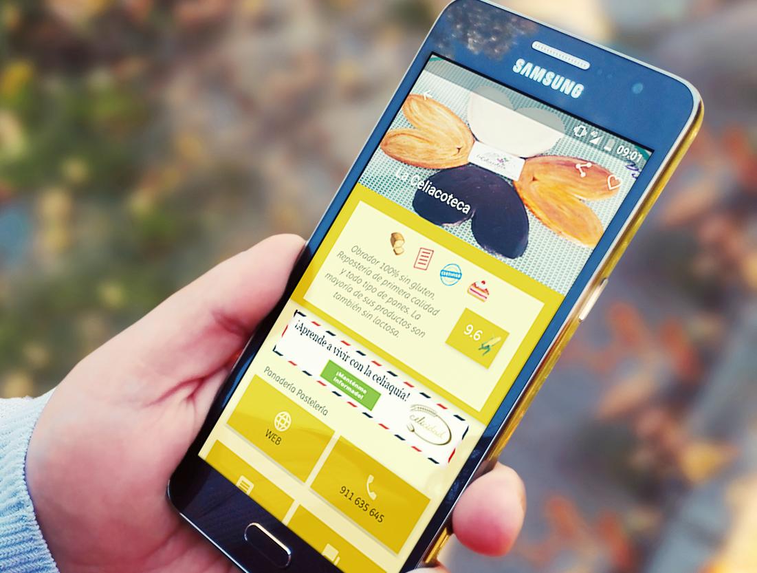 La App Celicidad, te envía avisos de los restaurantes cercanos y te recomienda en función de tus gustos