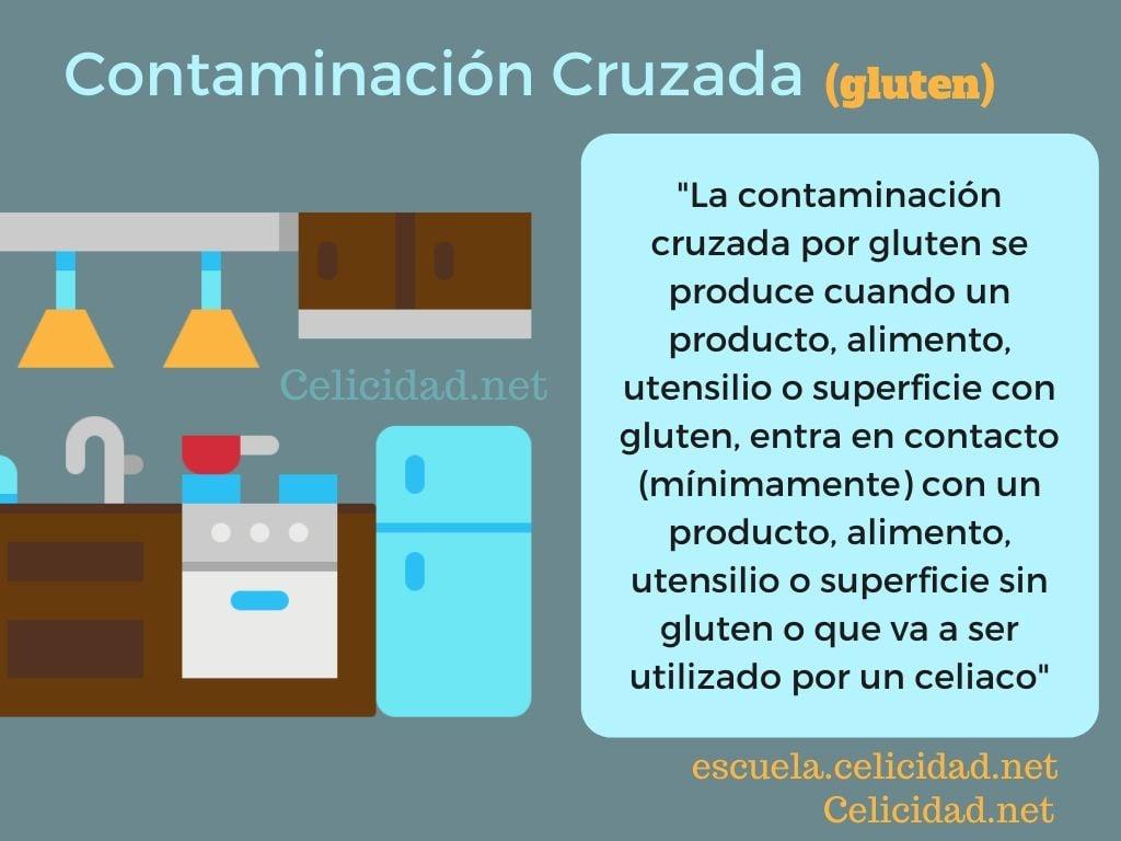 contaminación cruzada gluten