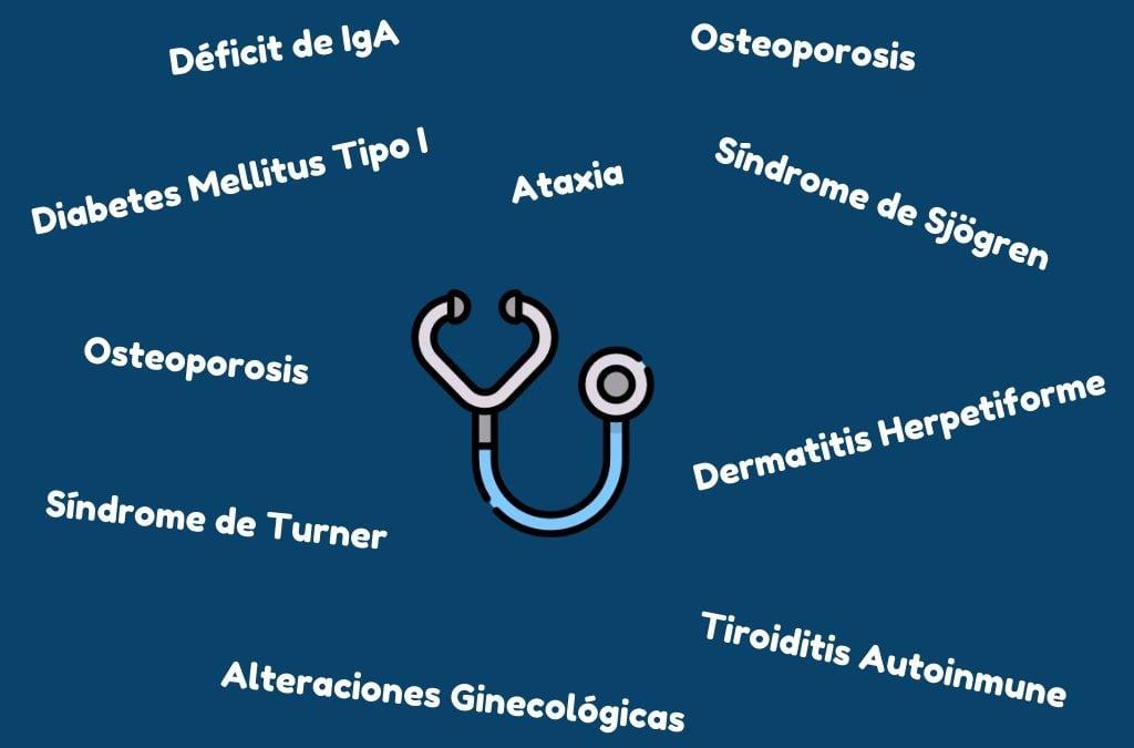 Enfermedades asociadas a la celiaquía