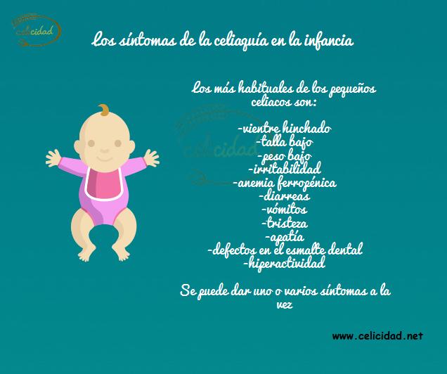 sintomas de la celiaquia infancia