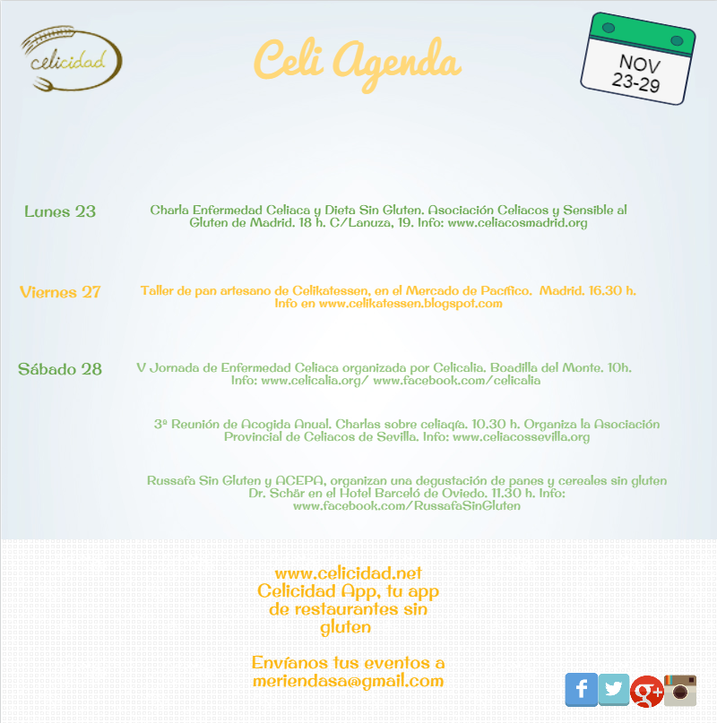 CELIAGENDA 23-29 NOV