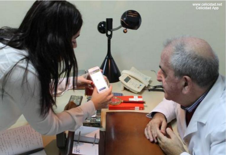 Dr. Rodrigo con Celicidad