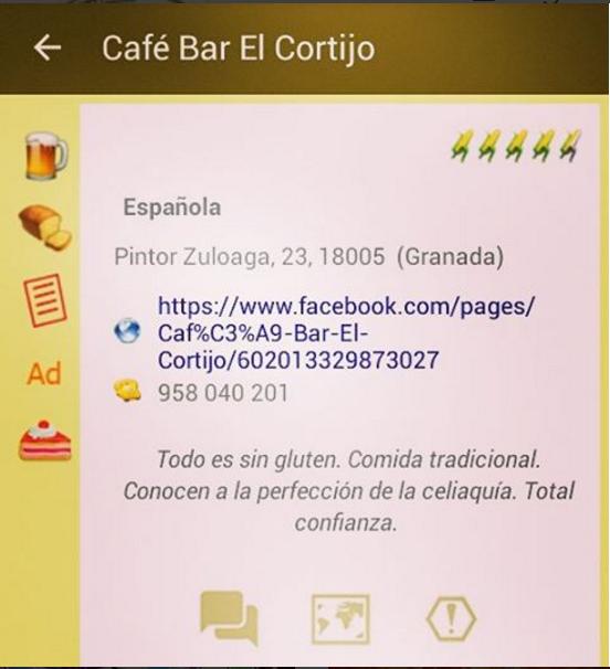 El Cortijo Sin Celicidad App