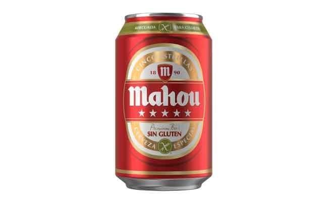 Mahou Cinco Estrellas Sin Gluten Cerveza Sin Gluten