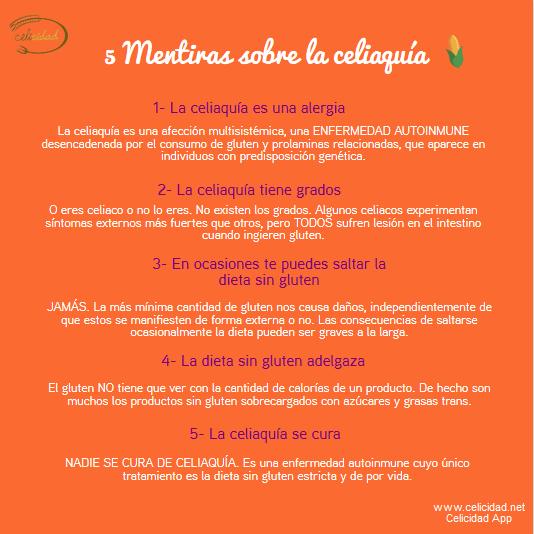 mitos celiaquia