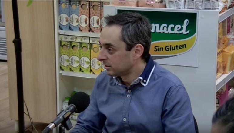 Juan Ignacio Serrano, en Celiacos en Directo.