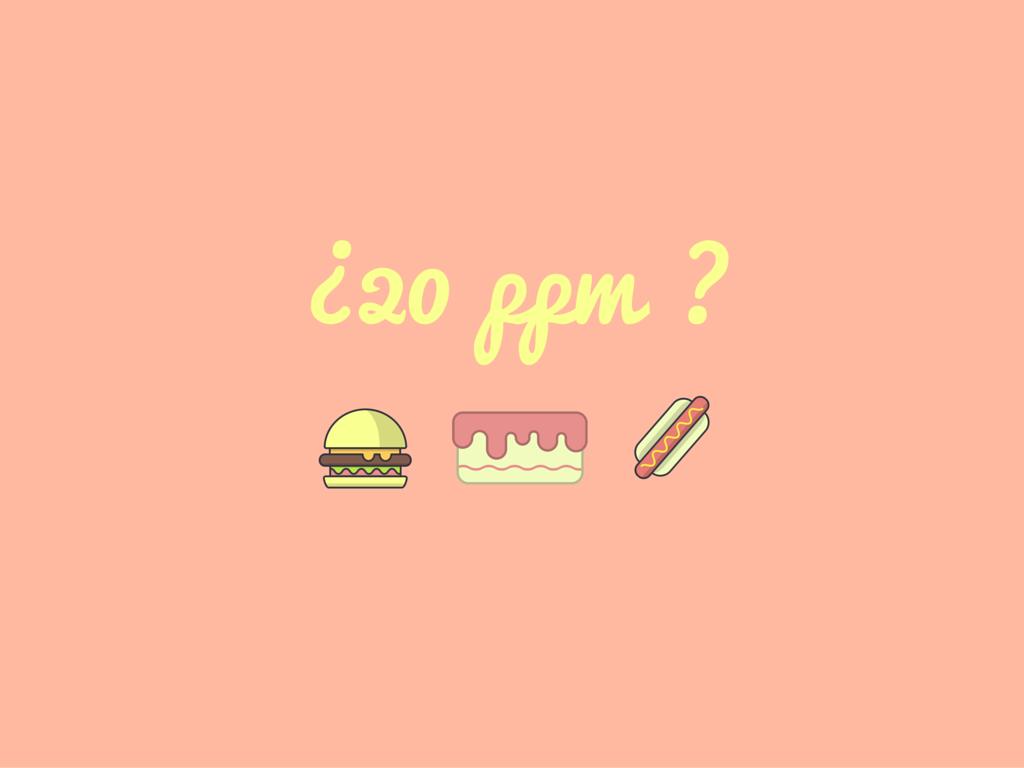 El límite de las 20 ppm para los productos sin gluten