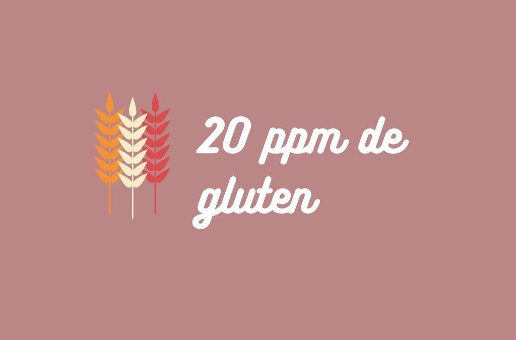 20 ppm gluten
