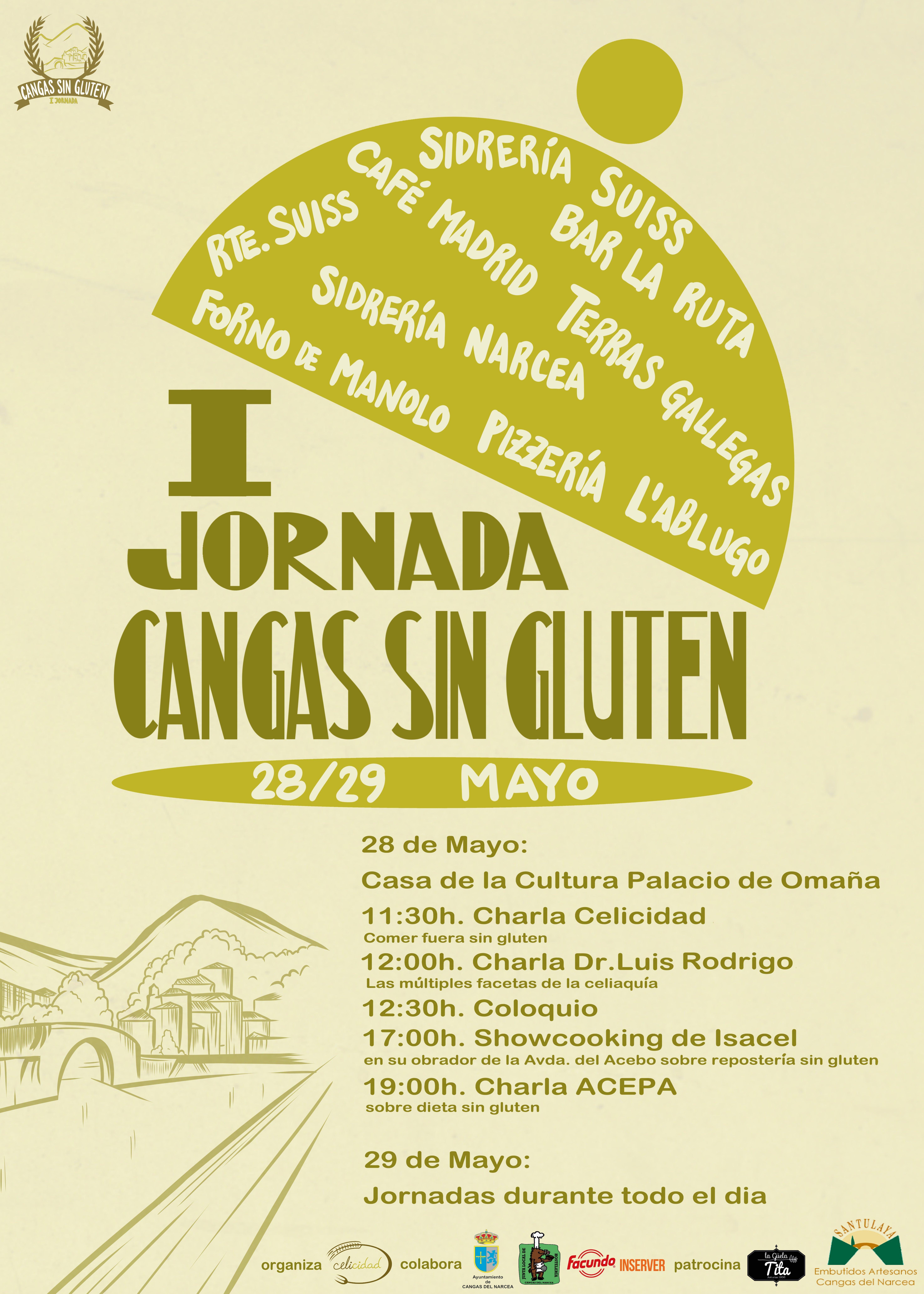 I Jornadas Cangas Sin Gluten.