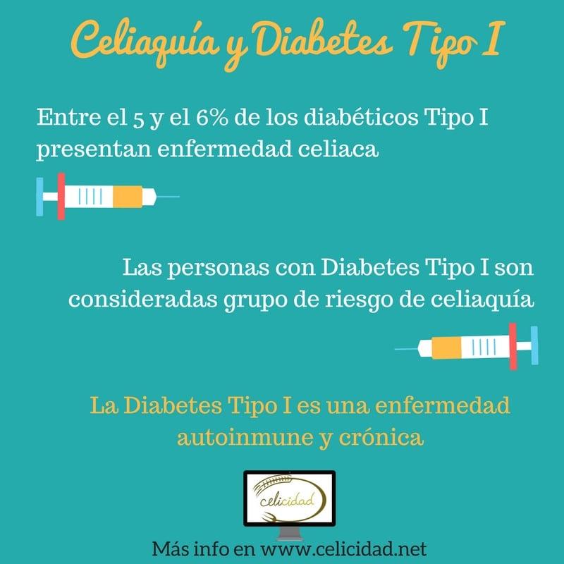 enfermedad celíaca diabetes tipo 1 niños