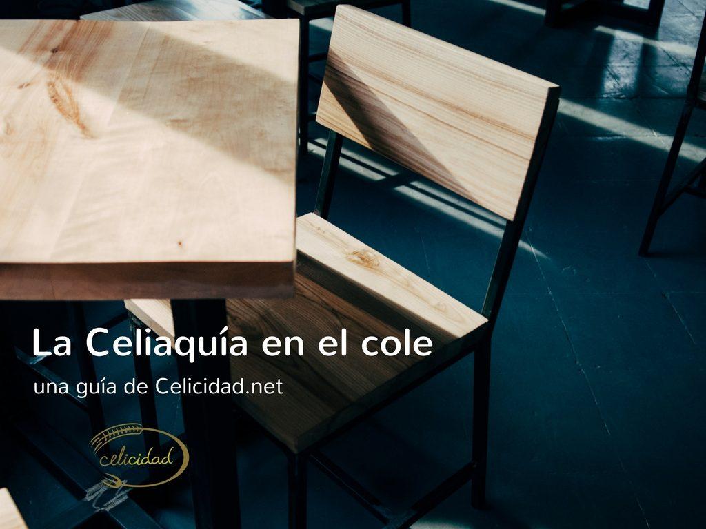 guía escolar sobre celiaquia
