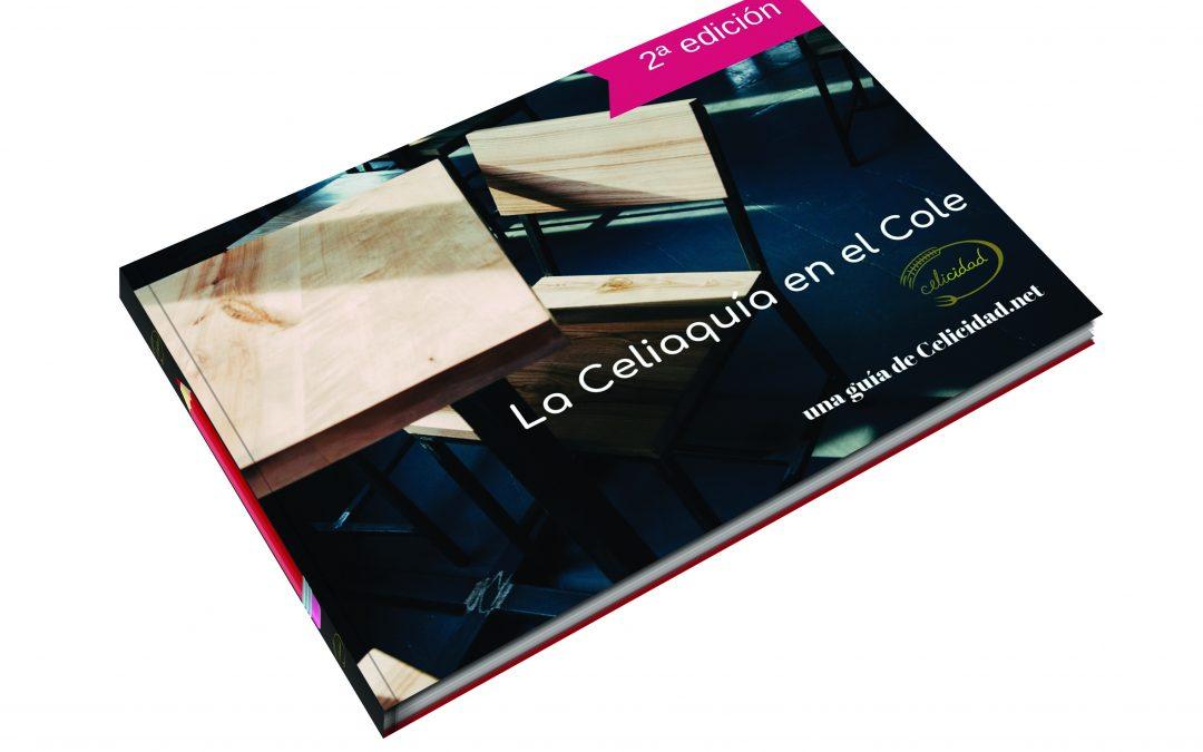 Celicidad publica la segunda edición de la guía La Celiaquía en el Cole