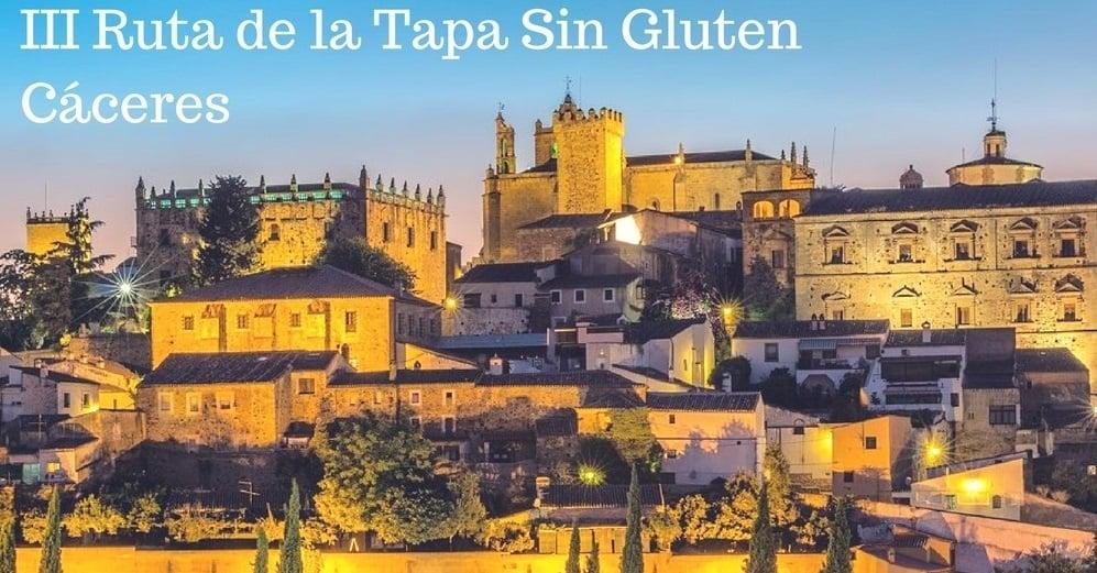 Cáceres celebra este fin de semana la III Ruta de la Tapa Sin Gluten