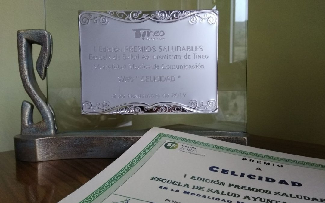 Celicidad recoge el Premio Saludable por su compromiso con la salud