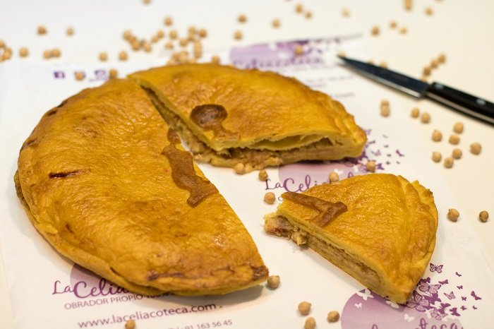 Madrid ya tiene su propia empanada, de cocido y sin gluten
