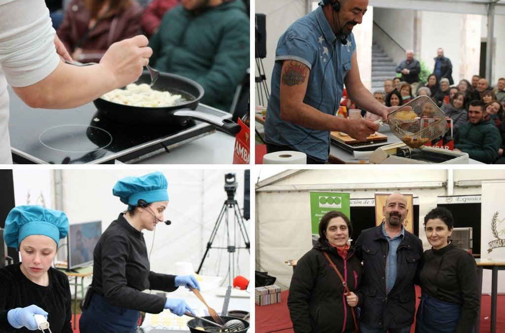 III Jornadas Cangas Sin Gluten: las recetas de Isacel, La Pavoneta y Casa Niembro