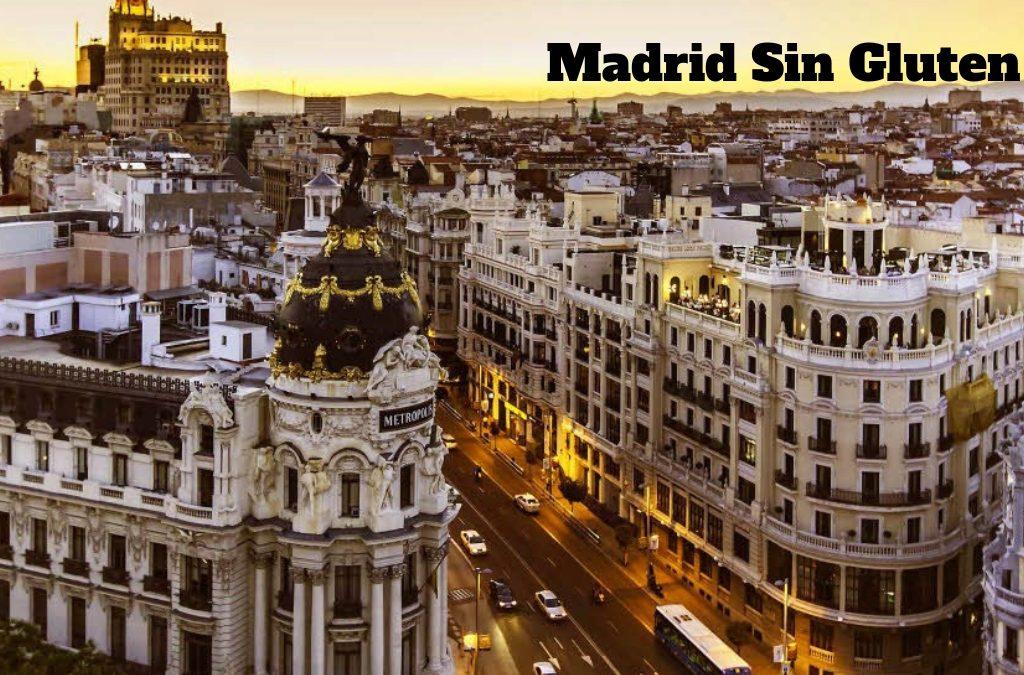 Restaurantes Sin Gluten en Madrid: lo mejor de la App Celicidad