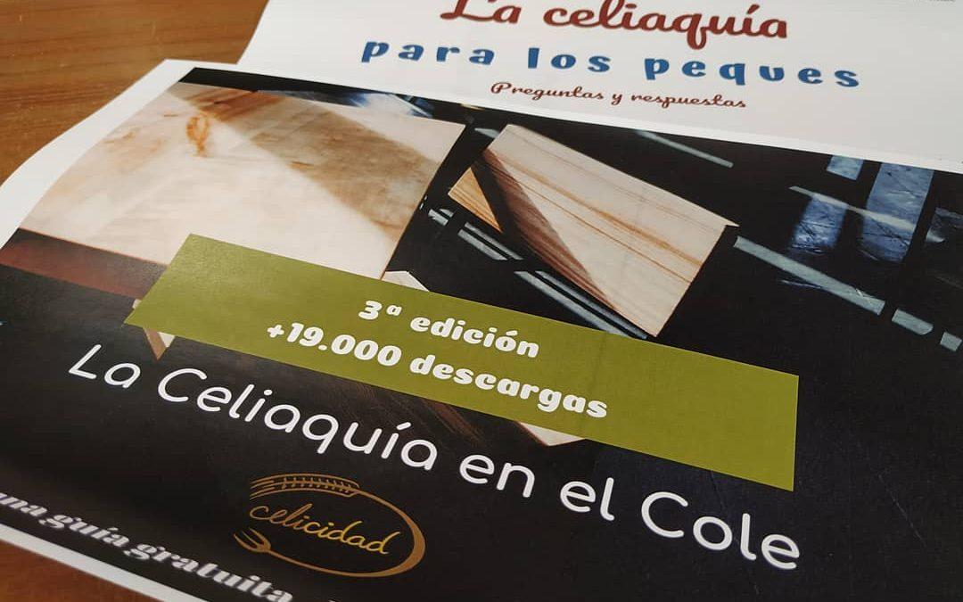 Celicidad lanza la tercera edición de la guía gratuita La Celiaquía en el Cole