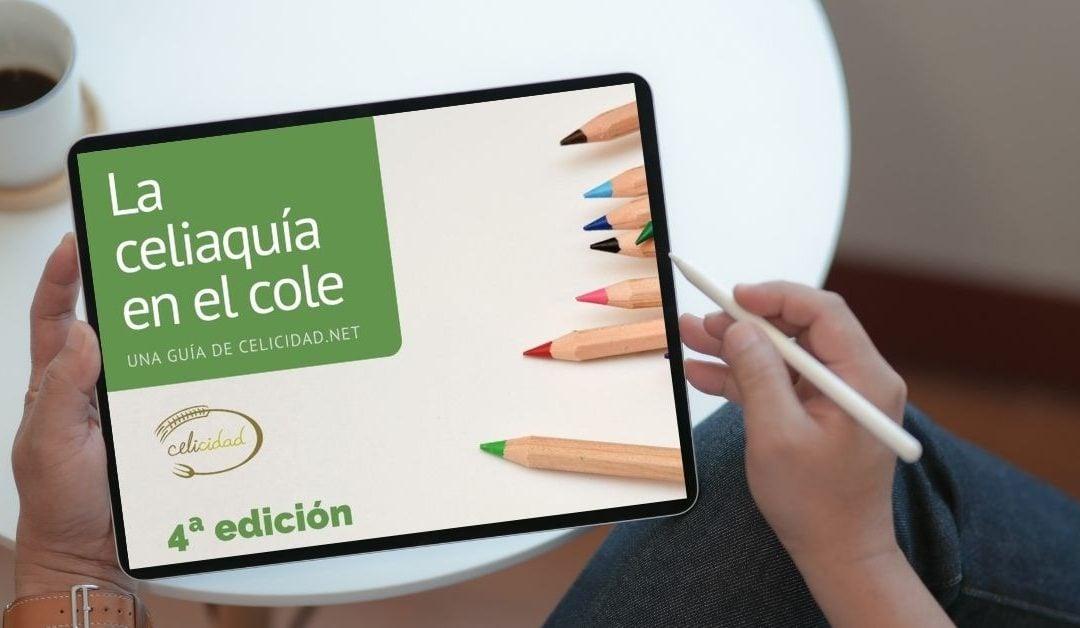 La Celiaquía en el Cole: ya disponible la cuarta edición de la guía de Celicidad
